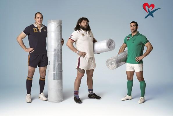 Magniflex loves rugby