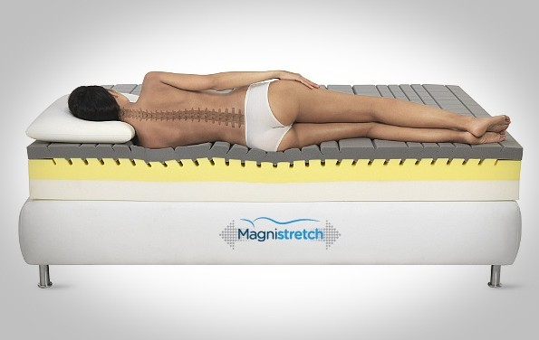 Sleeping on the Stretching Machine: Magnistretch by Magniflex