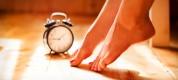 Alzarsi con il piede giusto