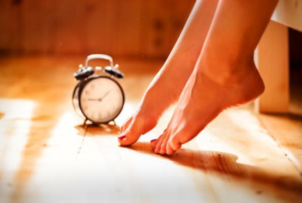 Alzarsi dal letto col piede sbagliato