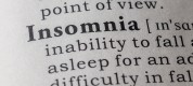 Dictionary definition of insomnia