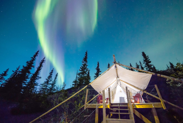 Glamping, when luxury becomes a virtue