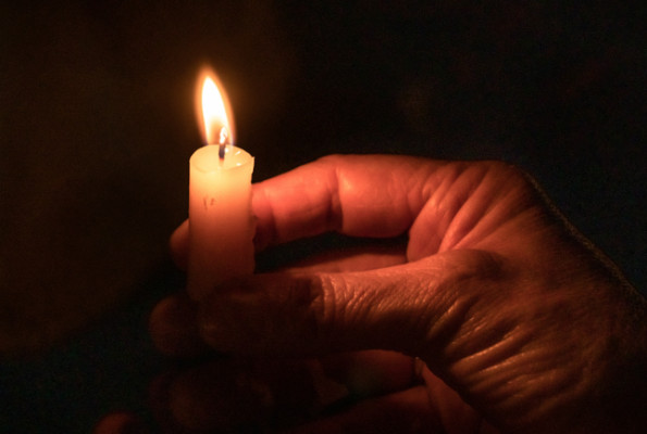 Burn away stress with a candle