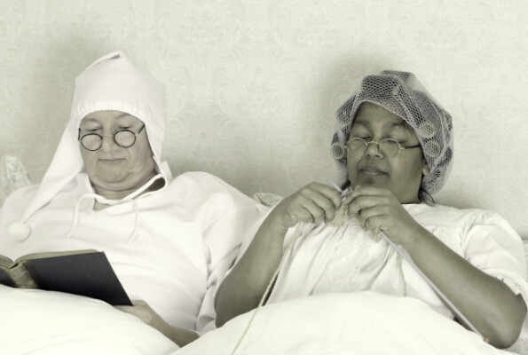Back when people used to sleep with a bonnet…