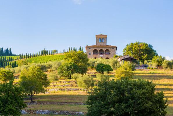 La primavera e un viaggio in Toscana