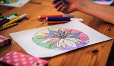 Mandala da colorare per alleviare stress e ansia