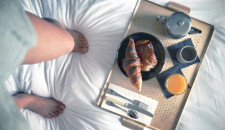 The perfect breakfast… in bed!